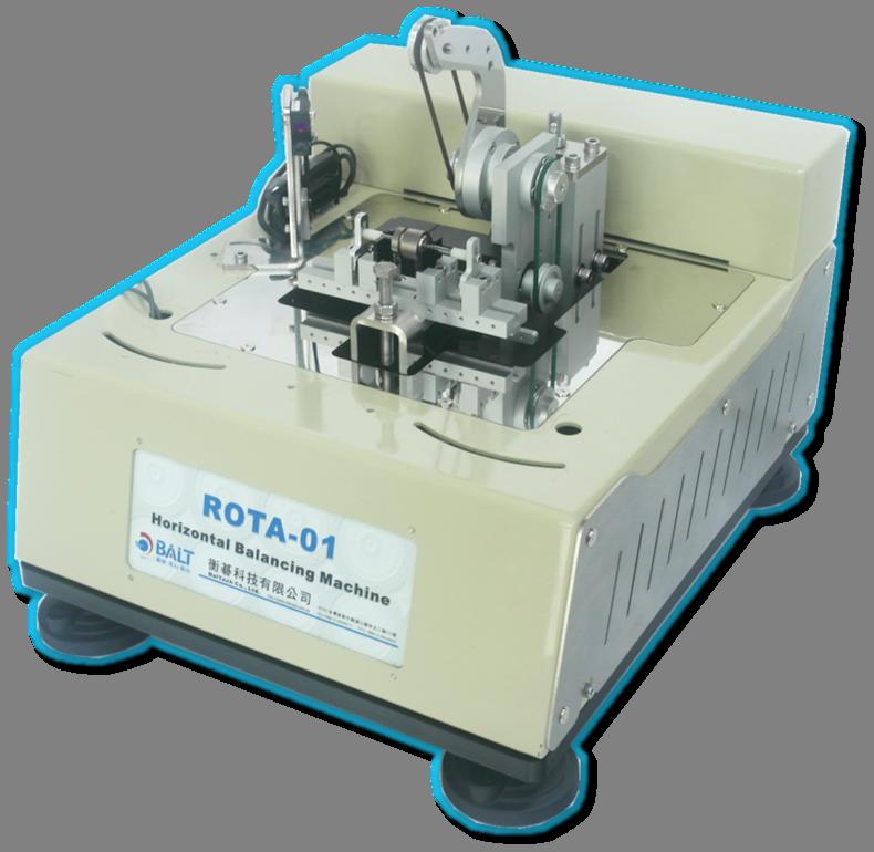 ROTA-01 ,單/雙/三面臥式微量平衡機 , 主軸動平衡機